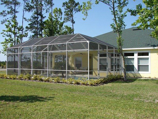 návrh zimní zahrady