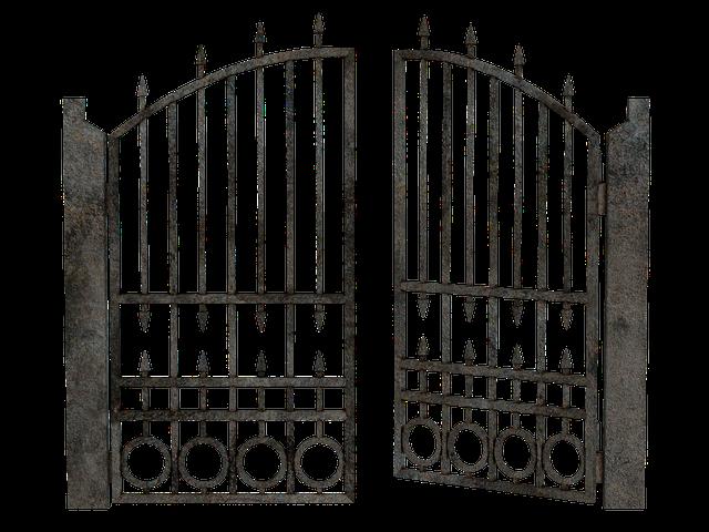 kovové vrata